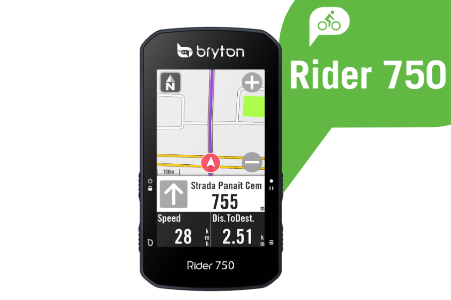 Bryton Rider 750 Test review