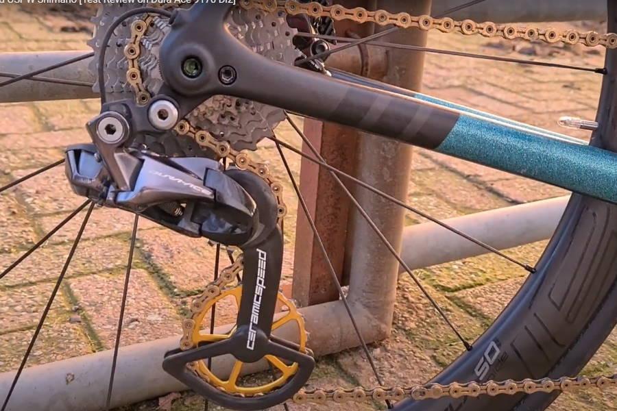 Grote derailleur wielen keramisch