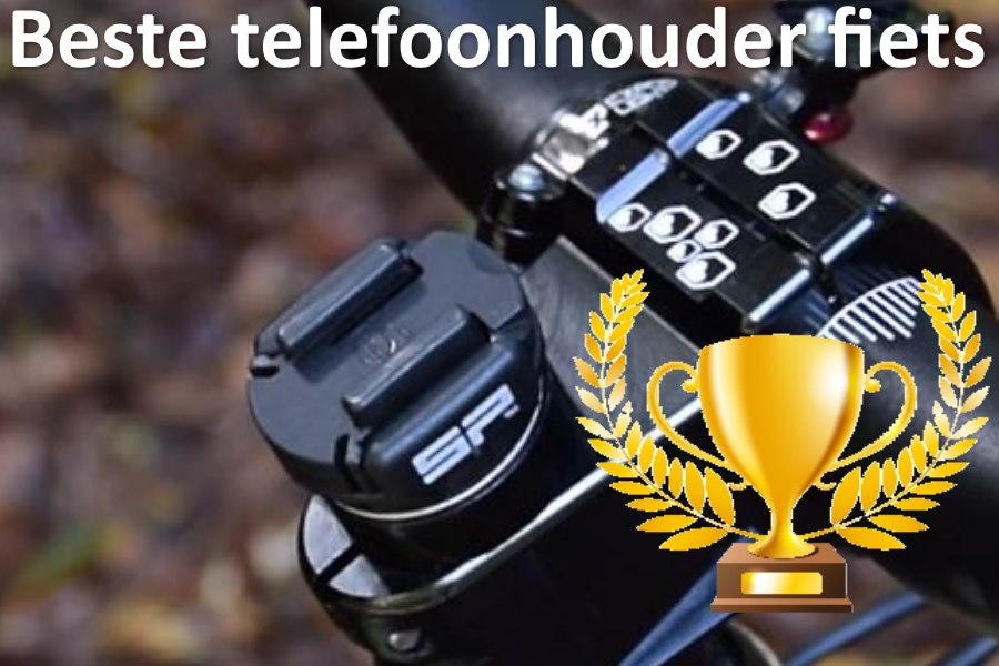 Beste telefoonhouder fiets | Telefoon op stuur voor iPhone 12, Samsung S21 en anderen